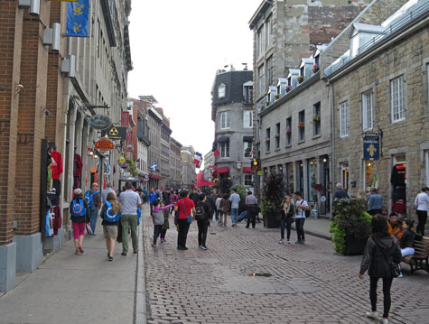 Rue Saint Paul, Old Montreal